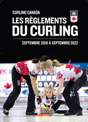 """Curling Canada Rules of Curling"" Book (2018-22) - Eng/Fr"