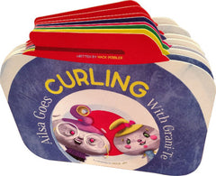 "Children's Book - ""Ailsa Goes Curling With Grani-Te"""