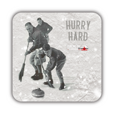 Curling Day In Canada - Coaster Set