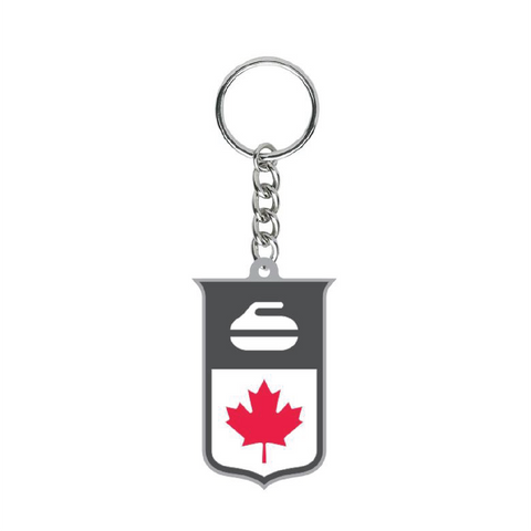 Official Keychain of Curling Canada