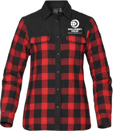 Thermal Long Sleeve Flannel Shirt -Ladies WWC2020