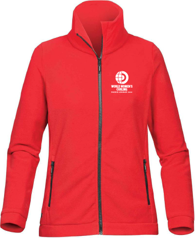 Full Zip Fleece Jacket -Ladies WWC2020