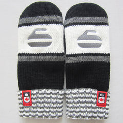Curling Canada Knit Mittens