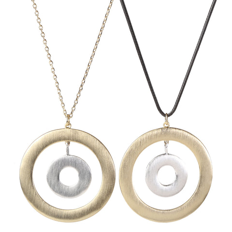 House Rings Necklace