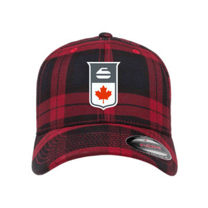 Curling Canada Flexfit Tartan Hat