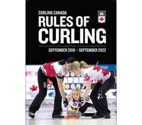 Official Curling Rule Book (2018-22) - Eng/Fr
