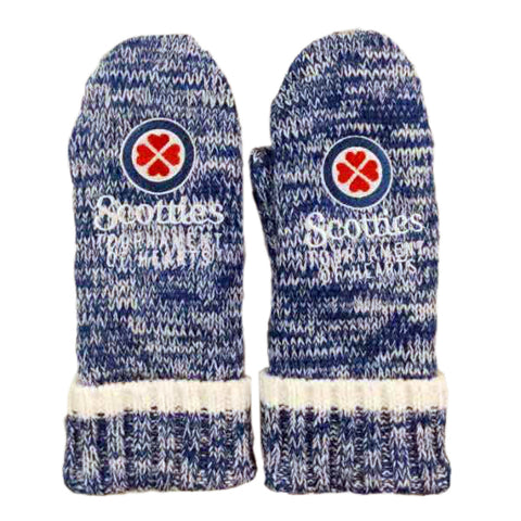 Scotties Knit Mittens