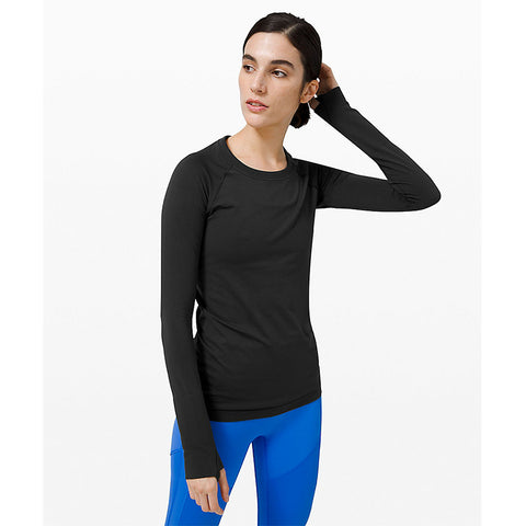 Swiftly Long Sleeve - Black