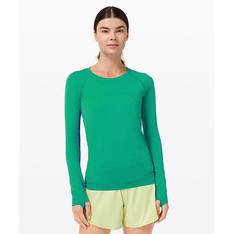 Swiftly Long Sleeve - Green