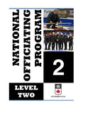 Level 1 and 2 Officiating Manuals