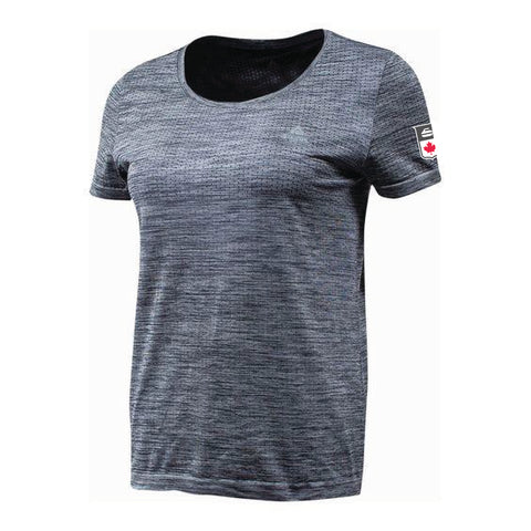 Womens Melange Grey Tee