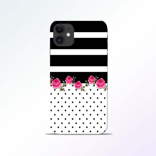 Black Dot iPhone 11 Mobile Cases