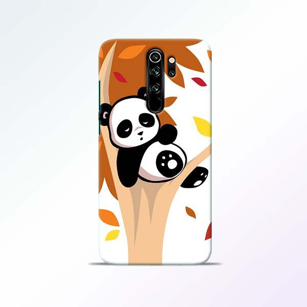 Black Panda Redmi Note 8 Pro Mobile Cases