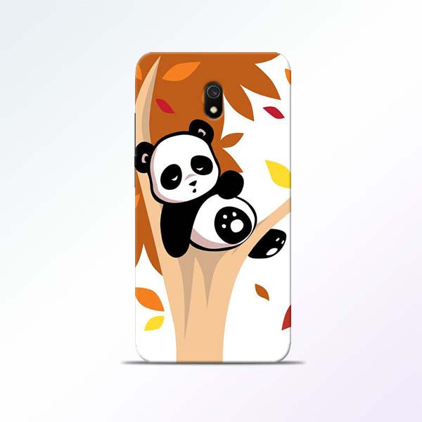 Black Panda Redmi 8A Mobile Cases
