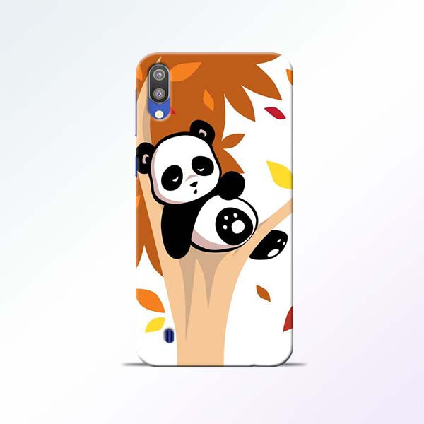 Black Panda Samsung Galaxy M10 Mobile Cases