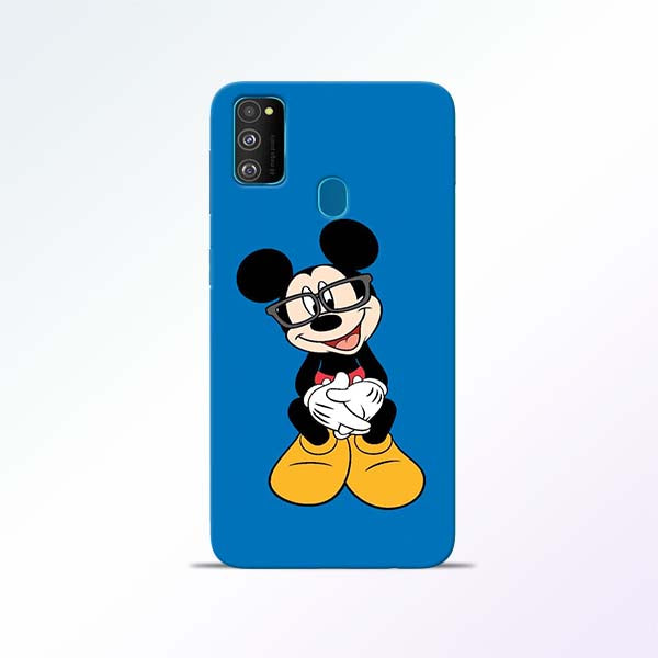 Blue Mickey Samsung Galaxy M30s Mobile Cases