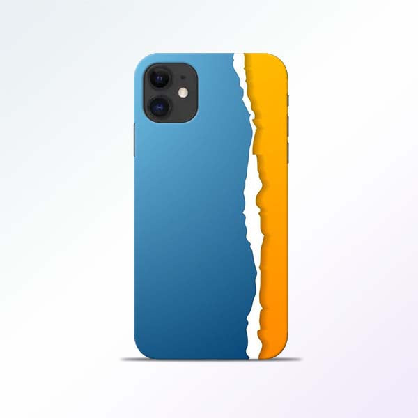 Blue Yellow iPhone 11 Mobile Cases