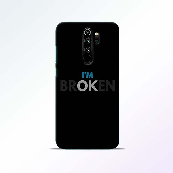 Broken Redmi Note 8 Pro Mobile Cases