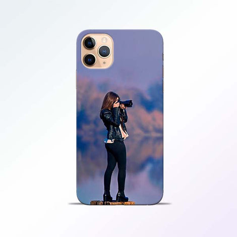 Camera Girl iPhone 11 Pro Mobile Cases