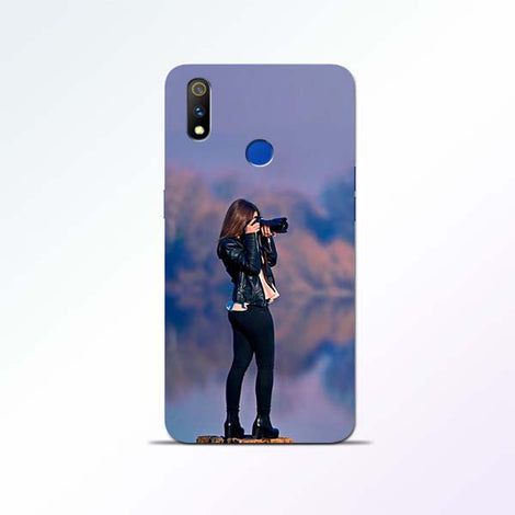 Camera Girl Realme 3 Pro Mobile Cases