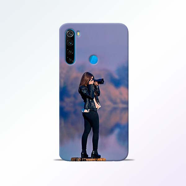 Camera Girl Redmi Note 8 Mobile Cases