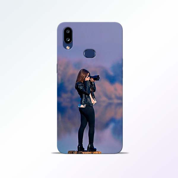 Camera Girl Samsung Galaxy A10s Mobile Cases