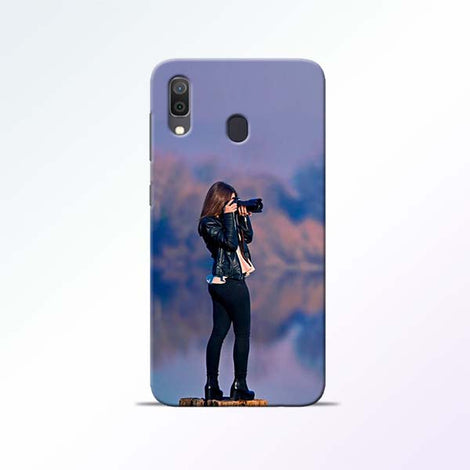 Camera Girl Samsung Galaxy A30 Mobile Cases