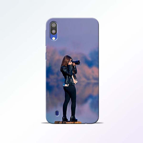 Camera Girl Samsung Galaxy M10 Mobile Cases
