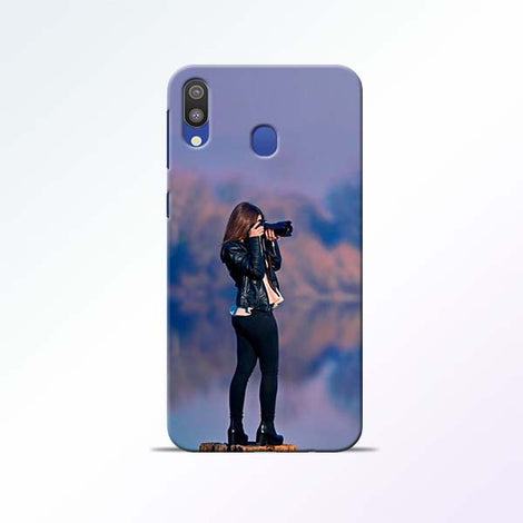 Camera Girl Samsung Galaxy M20 Mobile Cases