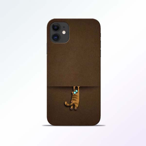 Cat Hang iPhone 11 Mobile Cases