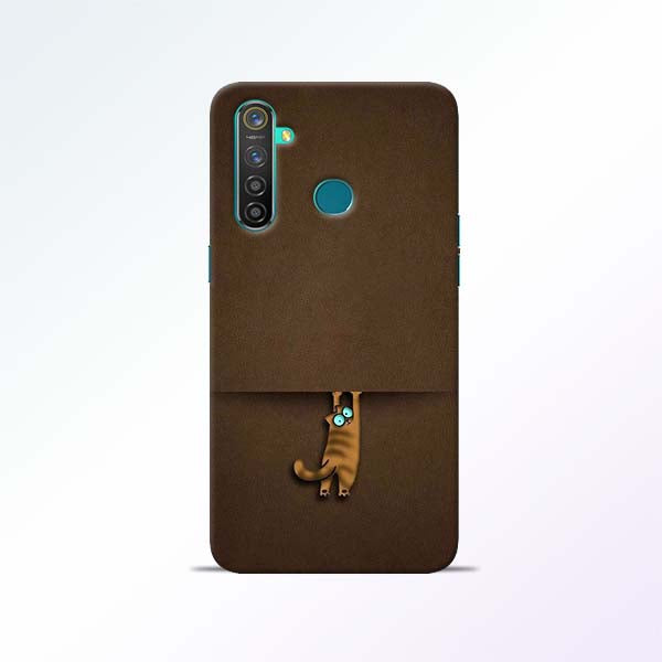 Cat Hang Realme 5 Pro Mobile Cases