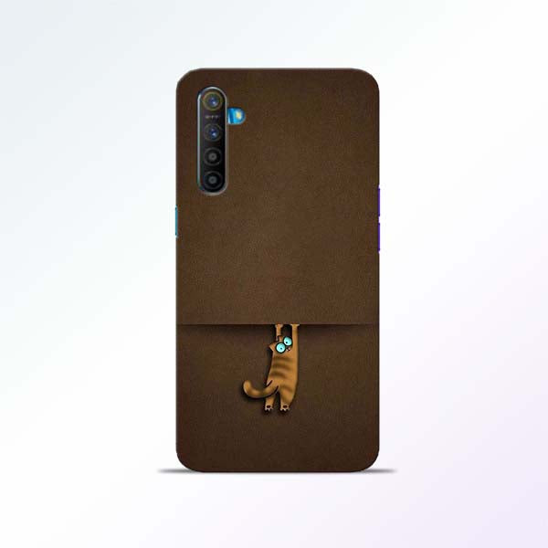 Cat Hang Realme XT Mobile Cases
