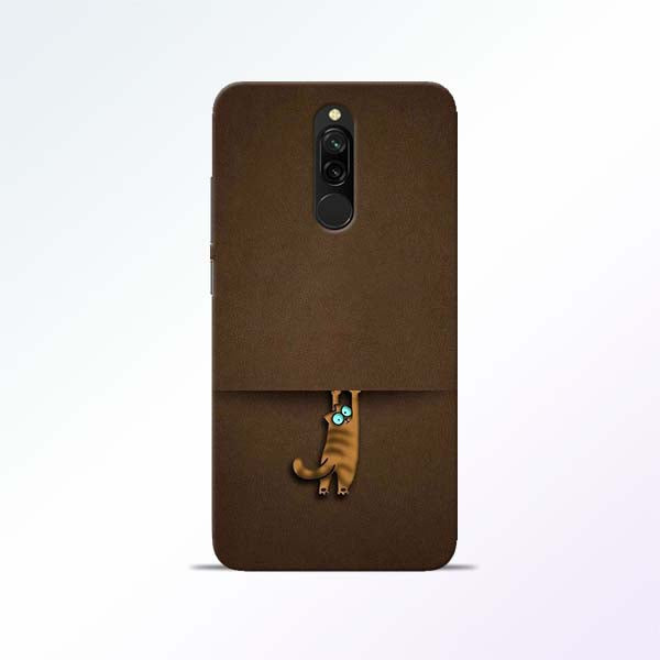 Cat Hang Redmi 8 Mobile Cases
