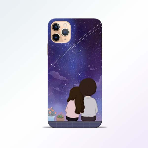 Couple Sit iPhone 11 Pro Mobile Cases