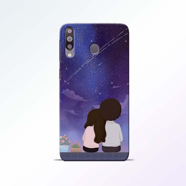 Couple Sit Samsung Galaxy M30 Mobile Cases