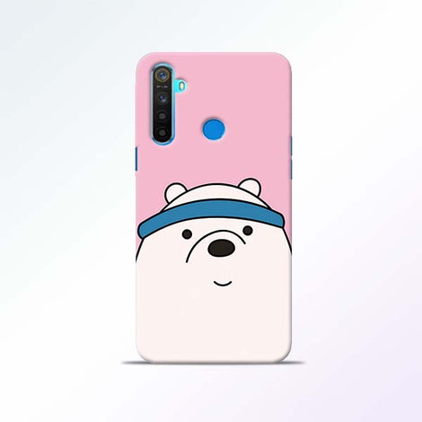 Cute Bear Realme 5 Mobile Cases