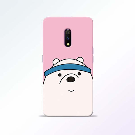 Cute Bear Realme X Mobile Cases