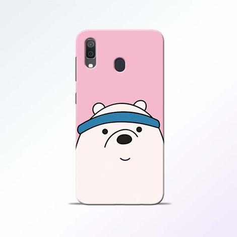 Cute Bear Samsung Galaxy A30 Mobile Cases