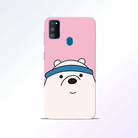 Cute Bear Samsung Galaxy M30s Mobile Cases