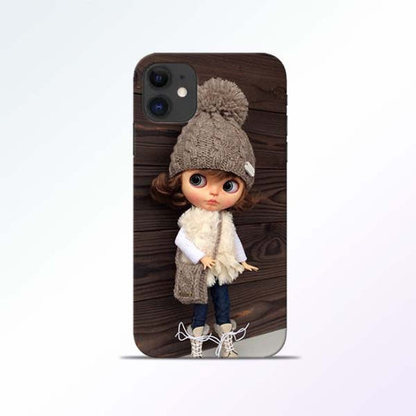 Cute Girl iPhone 11 Mobile Cases