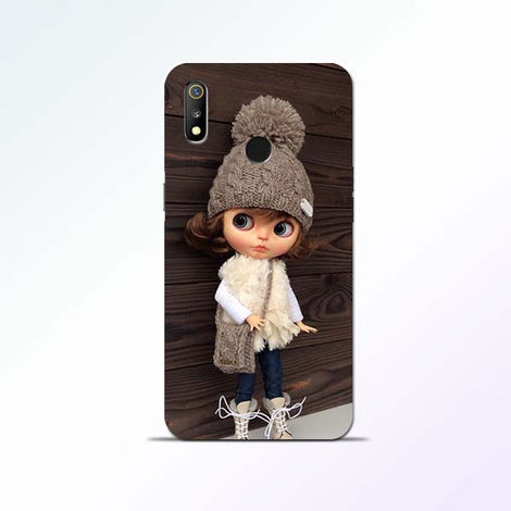 Cute Girl Realme 3 Mobile Cases