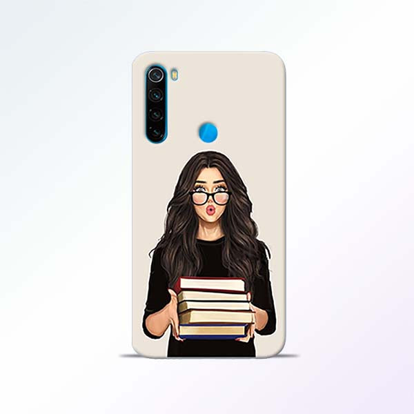 Exam Girl Redmi Note 8 Mobile Cases