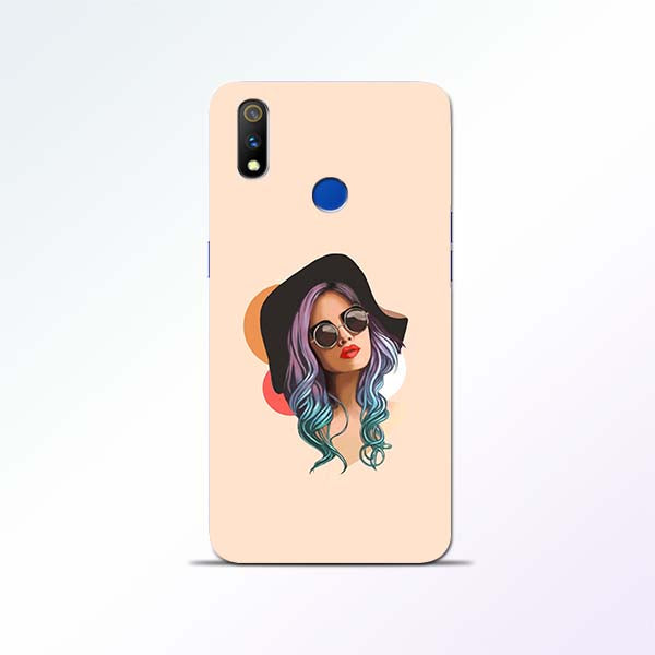 Girl Sketch Realme 3 Pro Mobile Cases