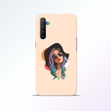 Girl Sketch Realme XT Mobile Cases