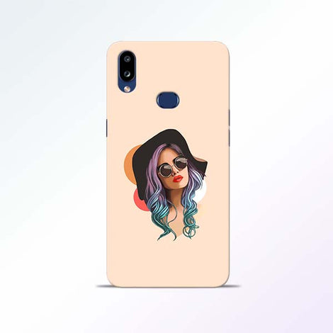 Girl Sketch Samsung Galaxy A10s Mobile Cases