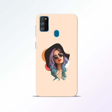 Girl Sketch Samsung Galaxy M30s Mobile Cases