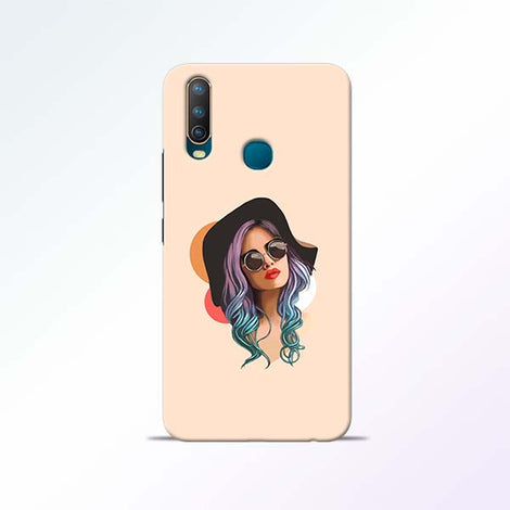 Girl Sketch Vivo U10 Mobile Cases