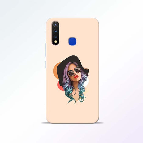 Girl Sketch Vivo U20 Mobile Cases
