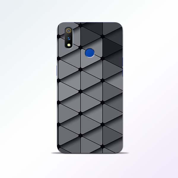 Grey Crystal Realme 3 Pro Mobile Cases