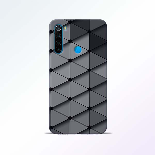 Grey Crystal Redmi Note 8 Mobile Cases